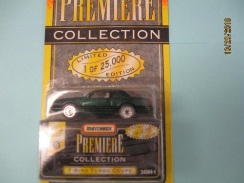 Matchbox Premiere T Bird (green) Coupe Series 5 # 34364-1 - 1