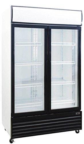 1000 Liter Display Beverage Cooler Merchandiser Refrigerator (35.3 Cu. Ft.) (2 Door Beverage Cooler compare prices)