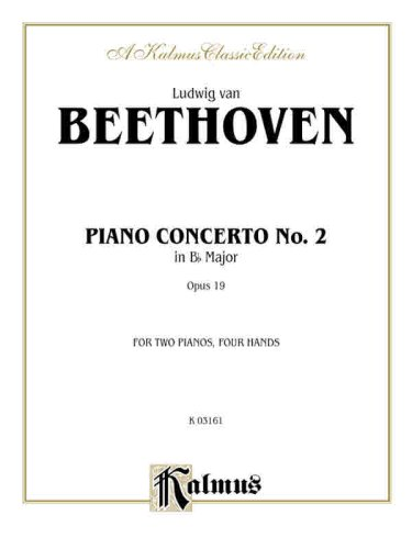 Piano Concerto No. 2 in B-flat, Op. 19
