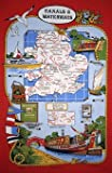 Canals & Waterways Tea Towel