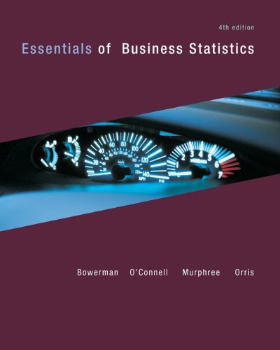 Loose Leaf Essentials of Business Statistics with Connect...