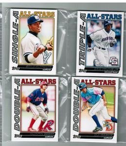 2010 Topps Pro Debut All-Stars Charlie Haeger Dodgers 1 Card Team Set by Topps