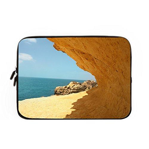 chadme-notebook-sleeve-hulle-tasche-strand-sonne-cliff-meer-sand-fallen-mit-reissverschluss-fur-macb