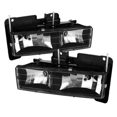 Spyder Auto PRO-YD-TT05-HL-BK Crystal Headlight (94 Toyota Headlights compare prices)
