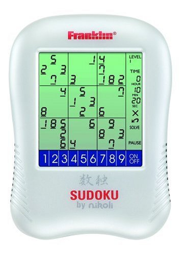 Cheap Franklin Electronics Franklin SDU-320 Sudoku Puzzle (1590743598)