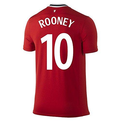 NIKE ROONEY #10 Manchester United Home Soccer Jersey/サッカーユニフォーム マンチェスター・ユナイテッドFC ホーム用 背番号10 ルーニー (L)