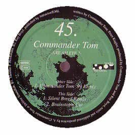 Commander Tom - Are Am Eye? - The Remixes