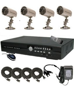 CIB R401H60W500G8653 4CH Security Surveillance