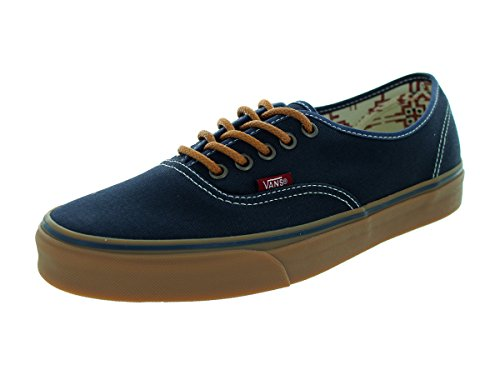 Vans Unisex Authentic (T&G) Ombre Blue/Gum Skate Shoe 10.5 Men US / 12 Women US