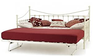 shabby chic white versailles day bed day bed trundle. Black Bedroom Furniture Sets. Home Design Ideas