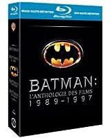 Coffret Batman : Batman - Batman le défi - Batman forever - Batman et Robin [Blu-ray]