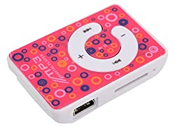 Kriva Enterprise Mini Mp3 Player (Pink)