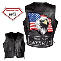 American Eagle Genuine Leather Vest (Large)