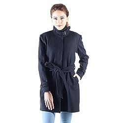 Owncraft navy wool coat for women