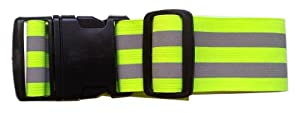 LW High Visibility Reflective Belt Safety Running Jogging Walking Biking Cycling