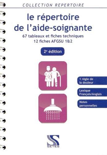 Le répertoire de l aide-soignante 2e ed