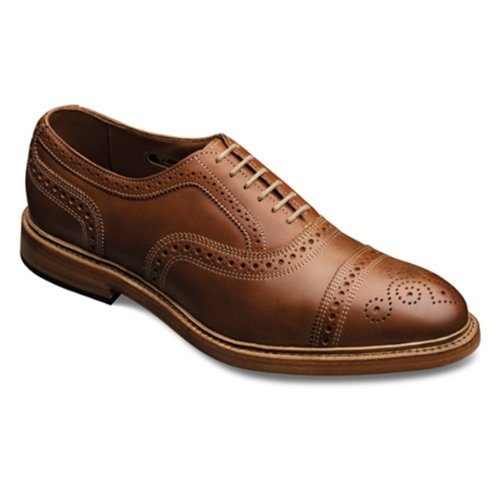 Allen Edmonds Men's Elgin Lace-Up,Tan,10.5 D US