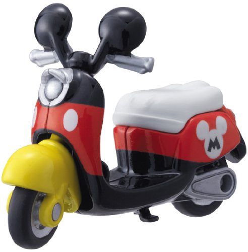 Tomica Disney Motors DM-13 Scooter Bike Mickey Mouse - 1