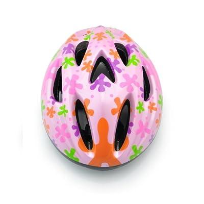 Girls Bicycle Skate Helmet-Pink, Size 49-53 cm by WINWIN