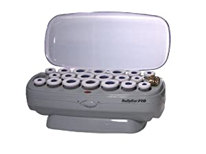 BaByliss Pro BABCHV21 Ceramic Instant Heat 20-Roller Set, Varied