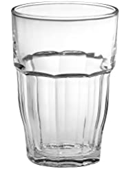 Bormioli Rocco Rock Bar 16-1 4-Ounce Stackable Beverage Glasses, Set of 6 by Bormioli Rocco