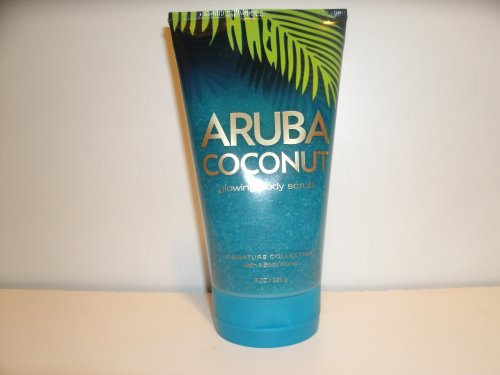 Bath and Body Works Aruba Coconut Glowing Body Scrub