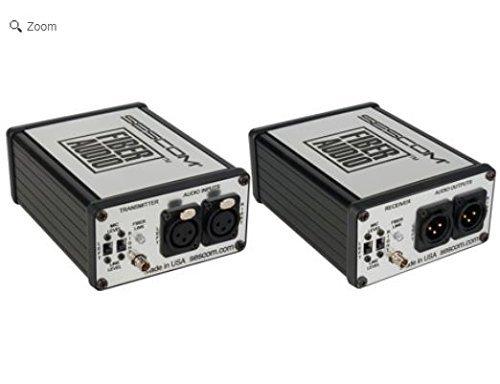 sescom-ses-fa2-portable-2-channel-mic-line-level-audio-over-fiber-extender-kit