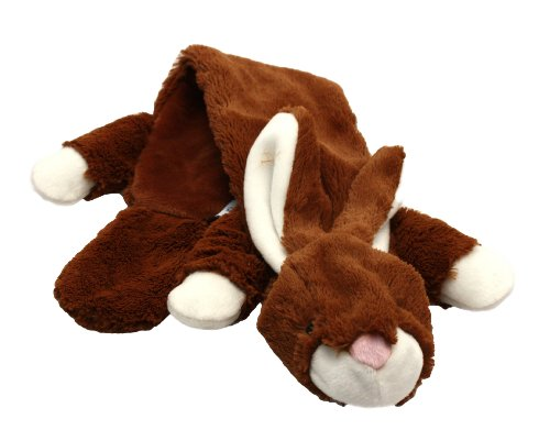 Happy Pet Unstuffed Rabbit Character Soft Dog Toy