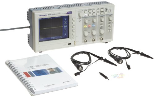 Tektronix Tds2022C Portable Digital Oscilloscope, 200Mhz Bandwidth, 2Gs/S Sample Rate, 2.5K Record Length, 2 Channels, Color Tft-Lcd
