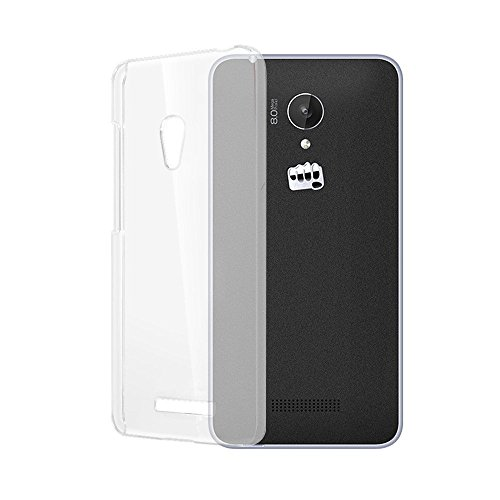 Hutz Ultra Thin Soft Silicon TPU Flexible Transparent Back Case Cover Compatible With Micromax Canvas Fire A104  available at amazon for Rs.149