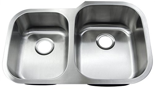 "Buy Cheap GOLDEN VANTAGE New 31""x20"" Under Mount Double Bowl Kitchen Sink T-304 Stainless ..."