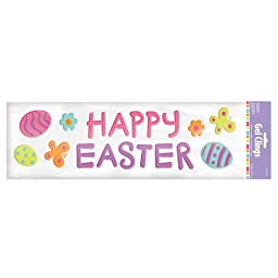 Happy Easter Gel Clings Party Accessory