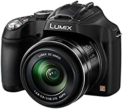 Panasonic DMC-FZ72EB-K Lumix Bridge Camera - Black (16.1MP, Super Telephoto 60x Optical Zoom, 20mm Ultra Wide Angle Lens)