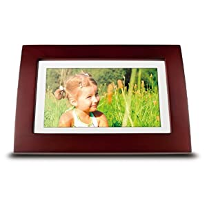 ViewSonic VFA720W-10 7-Inch Digital Picture Frame – Wooden