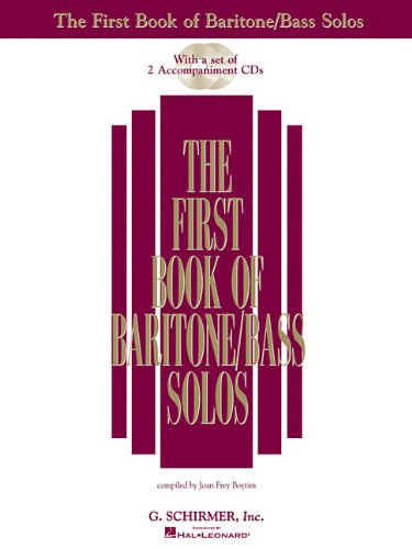 The First Book of Baritone/Bass Solos: Book/CD package (2...