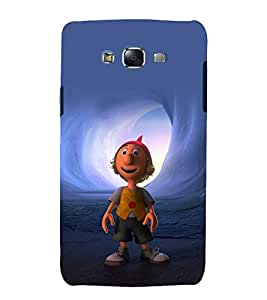 printtech Cartoon Back Case Cover for Samsung Galaxy A8::Samsung Galaxy A8 A800F