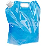 Generic 10L Folding Drinking Water Bag Pouch Container Bladder For Camping Hiking