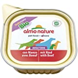 Almo Nature Daily Menu BIO Hundefutter mit Rind (100g), 16er Pack (16 x 100 g)