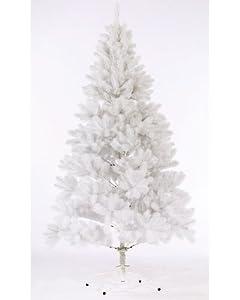 Pearl Sapin de Noël artificiel coloré Blanc: Cuisine