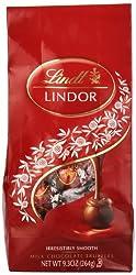 Lindt LINDOR Milk Chocolate Truffles, 9.3  Ounce