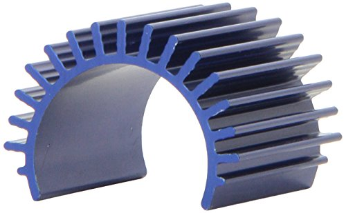 Traxxas 3374 Heat Sink Velineon 380 Motor Brushless, Aluminum Blue-Ano