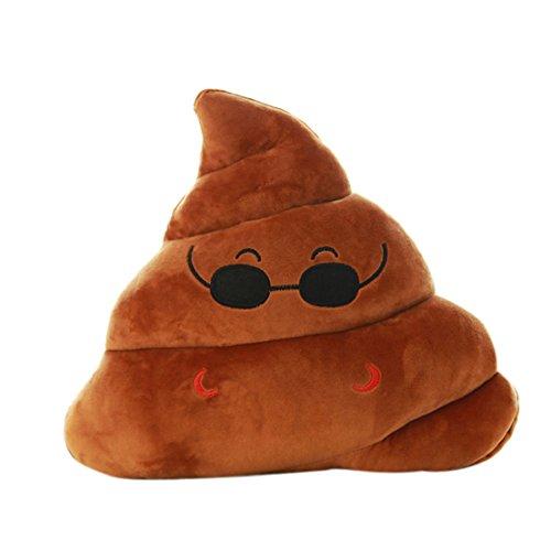 Tonsee Mini Kühl Emoji Emoticons Poo Form Kissen Puppe Spielzeug Throw Kissen