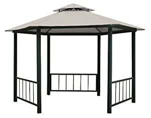 Coolaroo 13-Foot by 10-Foot Victoria Hexagonal Gazebo (Discontinued by Manufacturer)