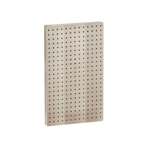 Images for Azar 771322-ALM Pegboard 1-Sided Wall Panel, Almond Solid Color, 2-Pack