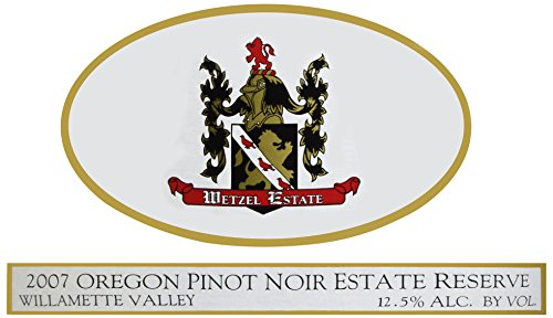 2007 Wetzel Estate Pinot Noir Estate Reserve 750 Ml