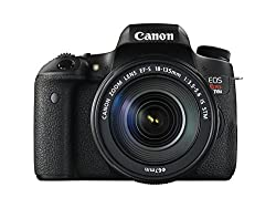 Canon EOS Rebel T6s Digital SLR with EF-S 18-135mm IS STM Lens - Wi-Fi Enabled
