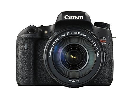 Canon EOS Rebel T6s Digital SLR with EF-S 18-135mm IS STM Lens
