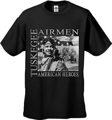 African American Heroes - Tuskegee Airmen Men's T-shirt #B309