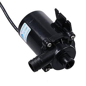 dbpower dc 12v magnetic electric centrifugal amphibisch kreiselpumpe water pump wasserpumpe fuer. Black Bedroom Furniture Sets. Home Design Ideas
