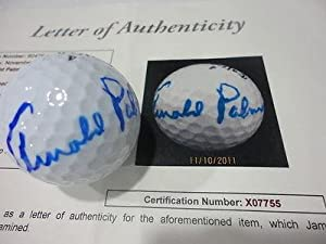 Arnold Palmer Loa Autograph Signed 4 Maxfli Tour Ltd Golf Ball Authentic!!!! - JSA... by Sports Memorabilia